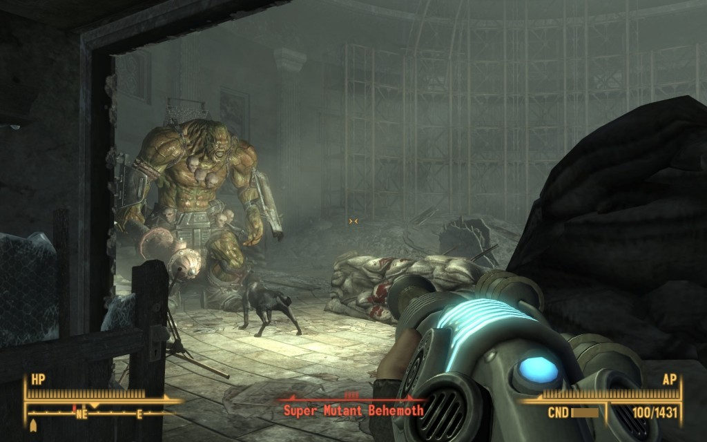 Fallout 3 Dogmeat vs Behemoth by u/Khusley