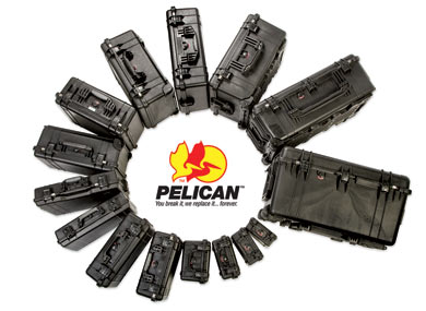 Pelican Cases and Logo
